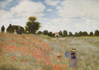 Monet Poppies Print