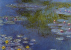 Monet Water Lilies at Giverny Print