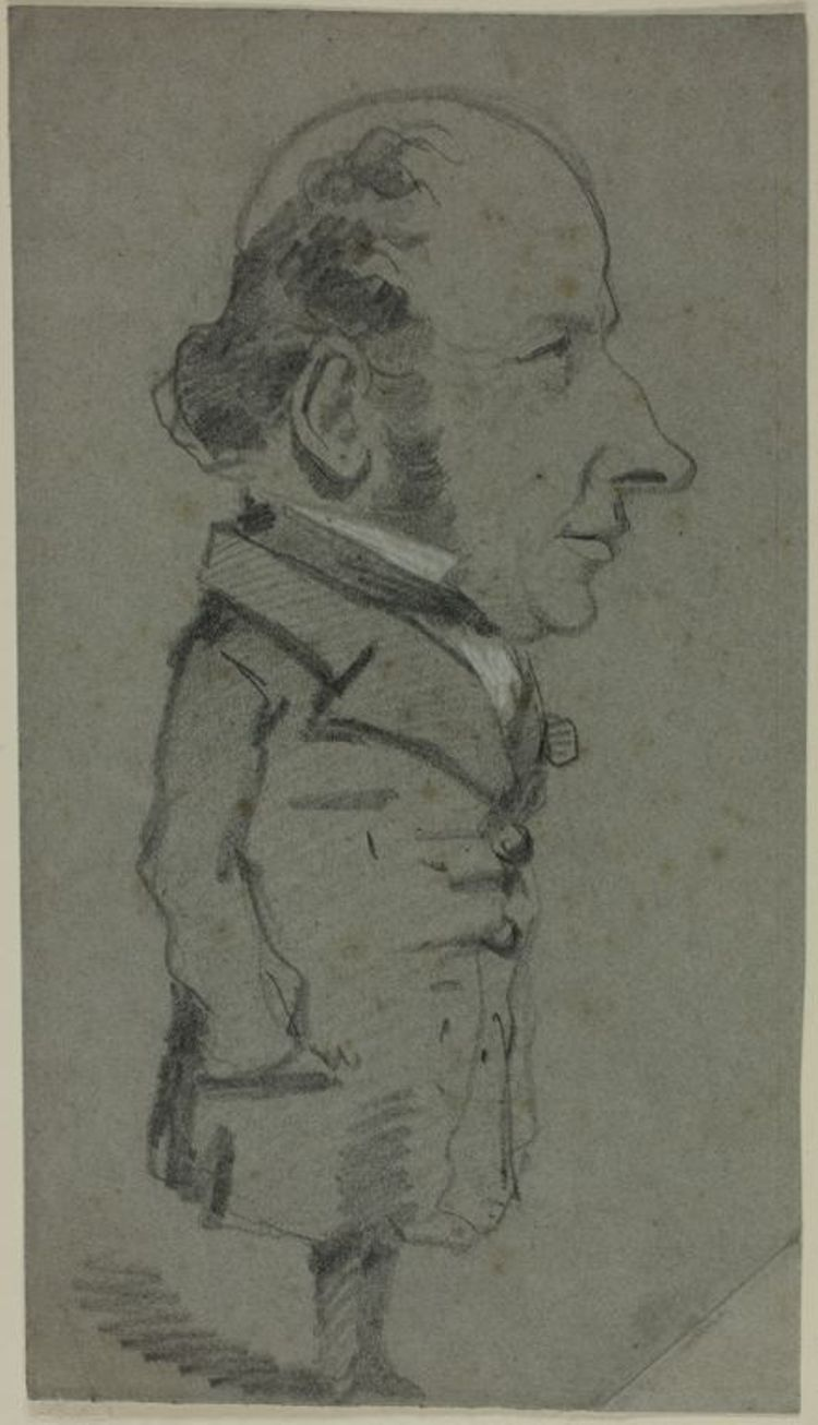 Caricature of a Man