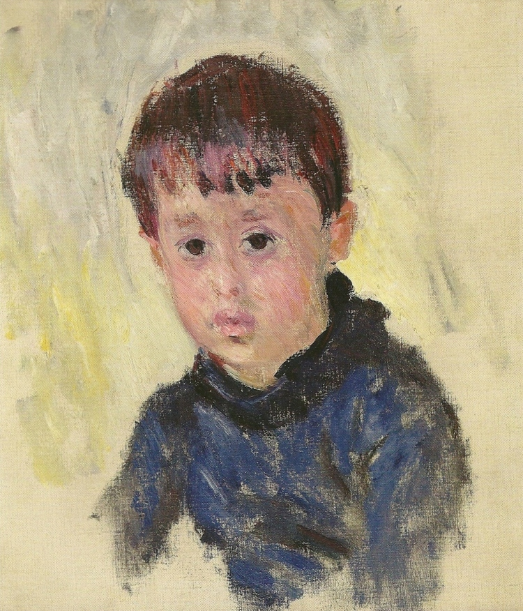 Michel Monet in a Blue Jumper