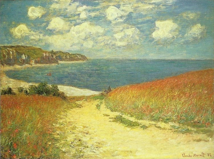 Path in the Wheat Fields at Pourville