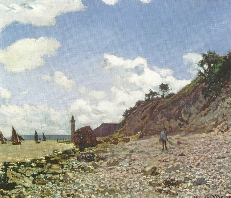 Seaside at Honfleur