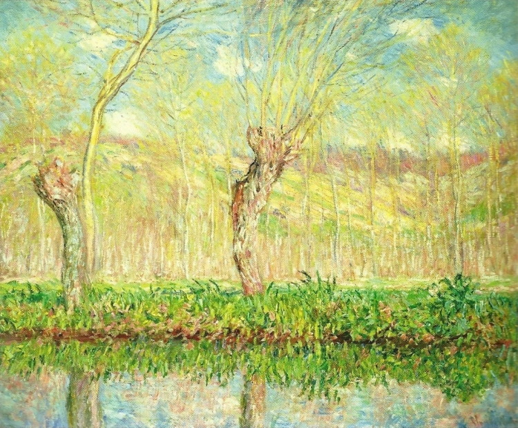 Spring, River Bank at Epte