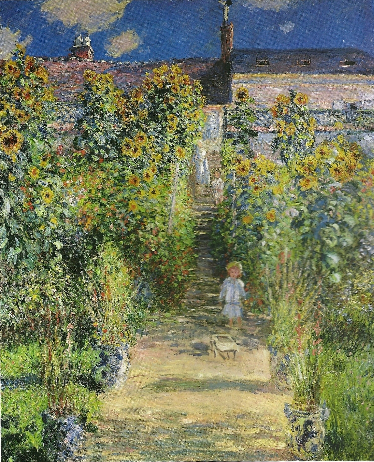 The Artist's Garden at Vétheuil
