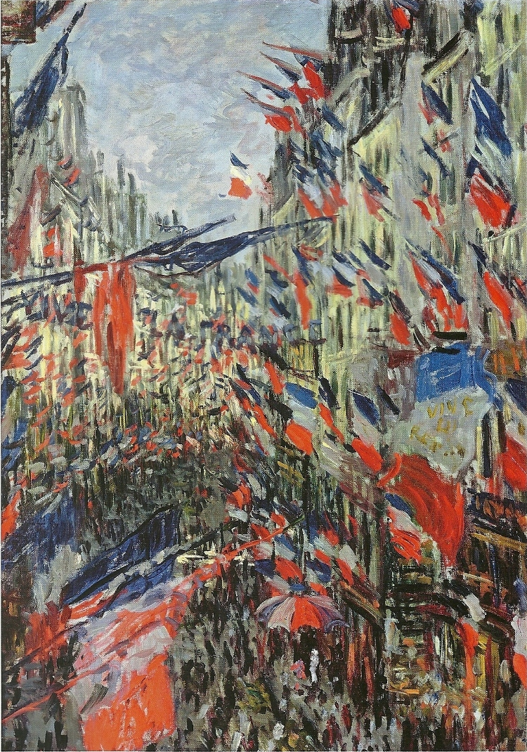 The Rue Saint-Denis, Celebration of June 30, 1878