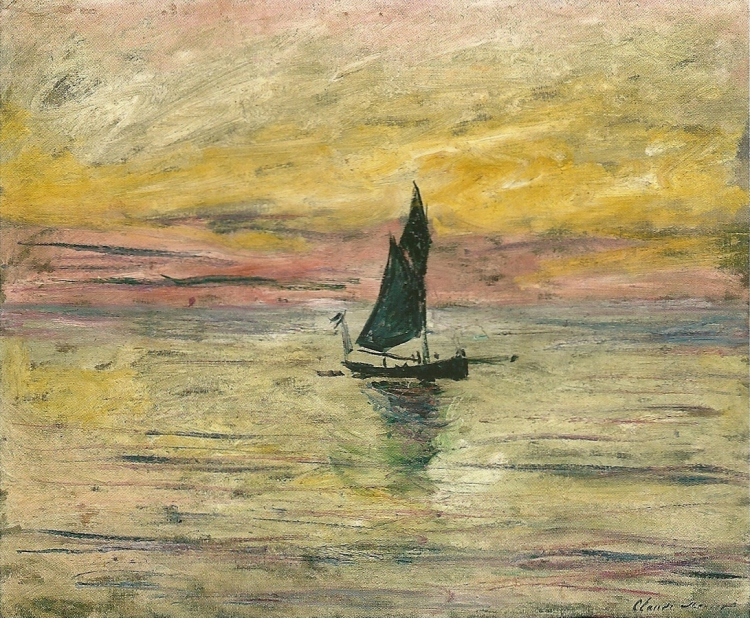 The Sailing Boat, Evening