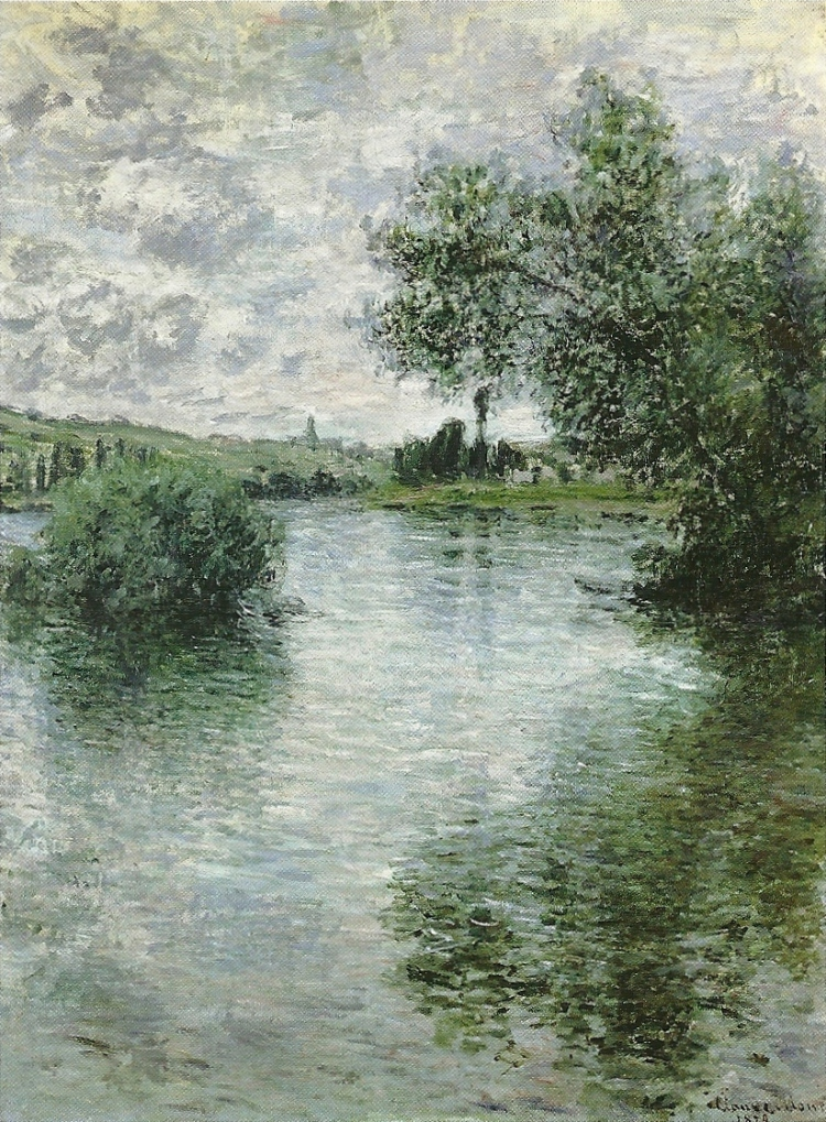 The Seine at Vétheuil