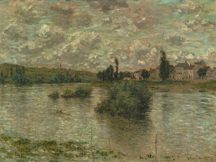 View of the Seine, Lavacourt