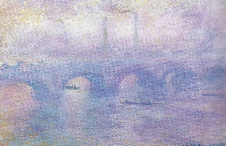 Waterloo Bridge in Fog