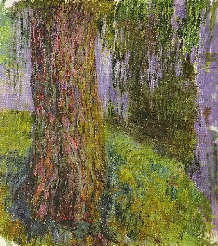 Weeping Willow and the Water Lily Pond