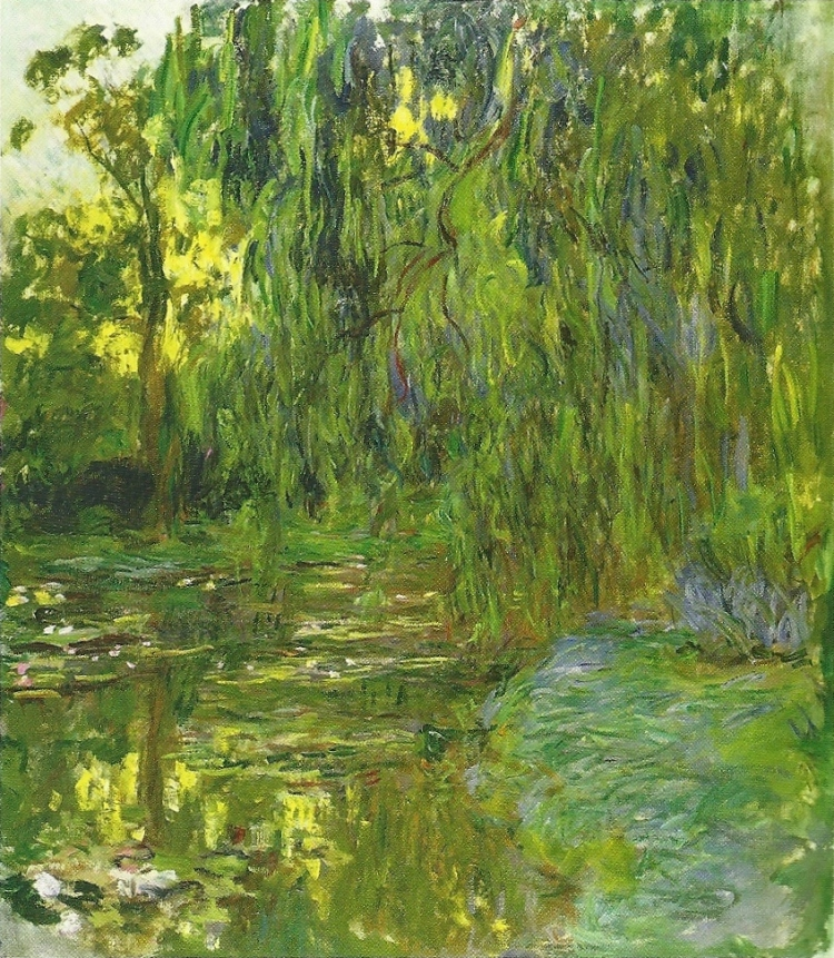 Weeping Willows, the Water Lily Pond at Giverny