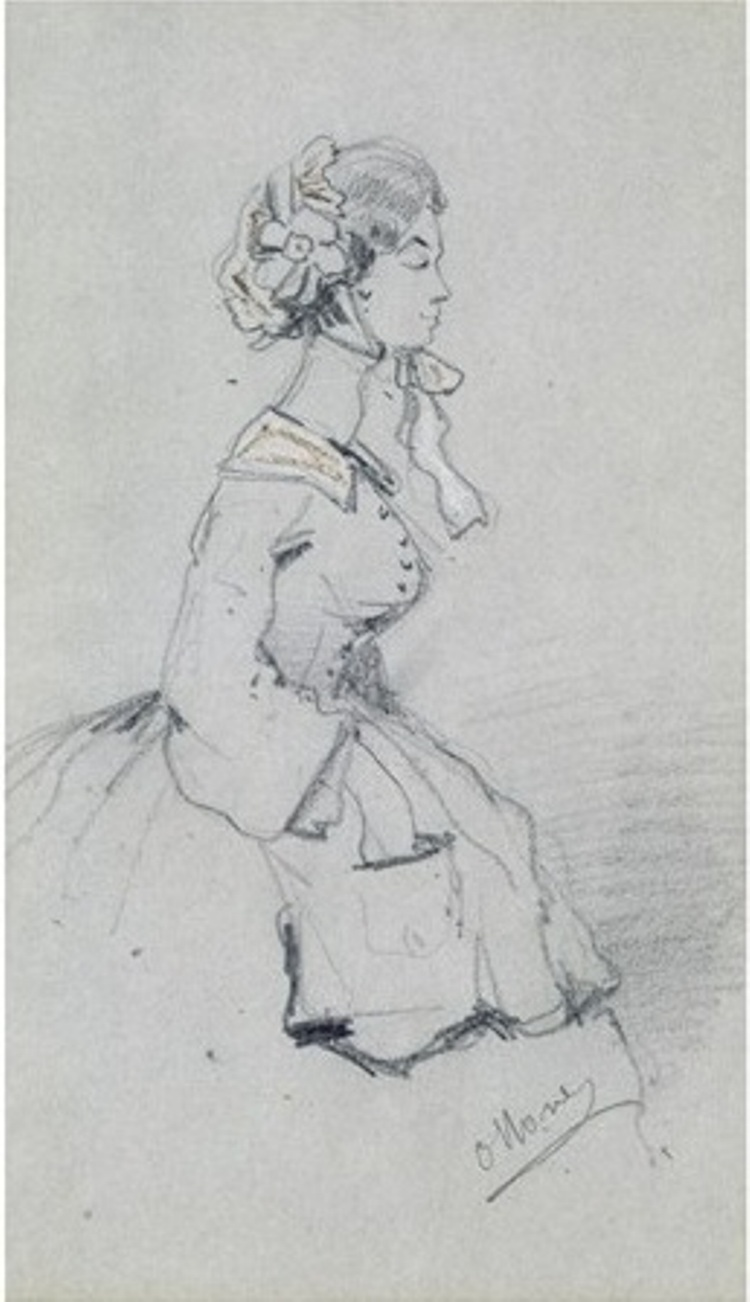 Young Woman with a Ribbon