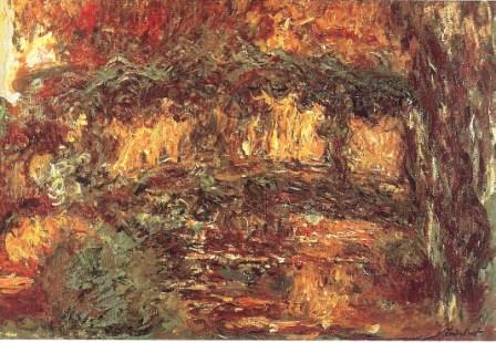 The Japanese Bridge by Claude Monet, 1923