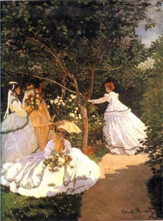 Women in the Garden by Claude Monet, 1866