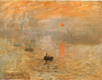Impression: Sunrise by Claude Monet
