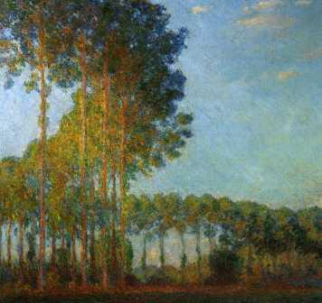 Poplars Along the Epte River, View from the Marsh