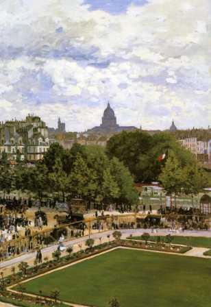 The Garden of the Princess, Louvre