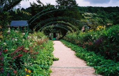 View of Monet's Garden in Giverny