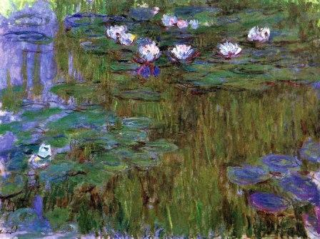 Water Lilies by Claude Monet, 1915